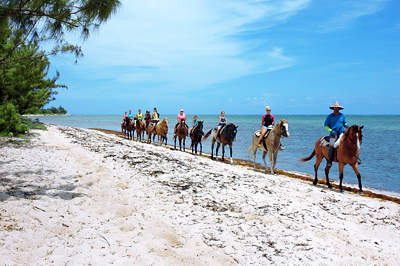 Beach Horseback Riding in Grand cayman